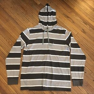 [Men's] RVCA | Striped Hoodie LARGE